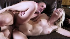 Karla Kush gets her gorgeous ass groped and fucked by an oldere man