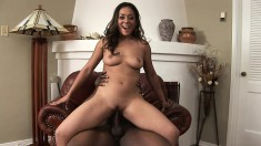 Estelle Leone has an awesome body and gets nailed by a big black dick