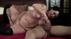 Bodacious mature Alexis Couture loves to get her snatch pounded hard