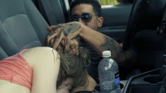 Sweet Looking Dolly Leigh Gives Head And Gets Drilled In A Van
