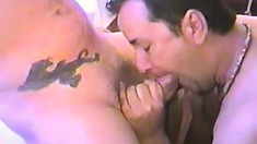 Will Steamer and his lover share nasty gay blowjobs in the hotel room