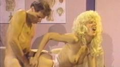 Sharon Kane has Jon Martin pounding her hungry snatch rough and deep