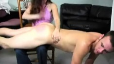 A Health Care Provider Is Spanked By Attractive Serena