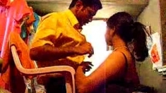 Hot Desi Indian Aunty Giving Blowjob And Fucking Lover