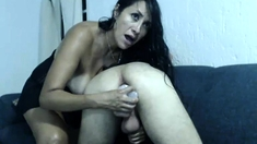 Busty Milf Brunette Play With Toys Webcam Chat
