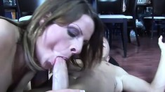 Thick blonde bitch with a thick ass gets pounded by a raw dong