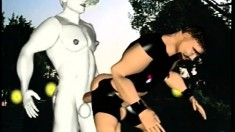 Ancient Greek Statue Attacked By Horny Gays In An Animated Video