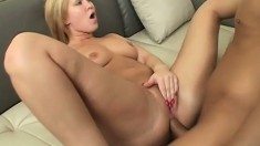 Sexy anal whore takes every inch of a big dick up her sphincter