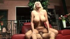 Cock addicted MILF Kayla Page adores big dicks between her legs